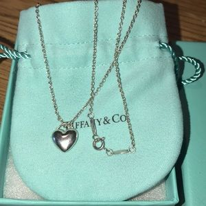 Tiffany & Co. Full Heart Sterling necklace